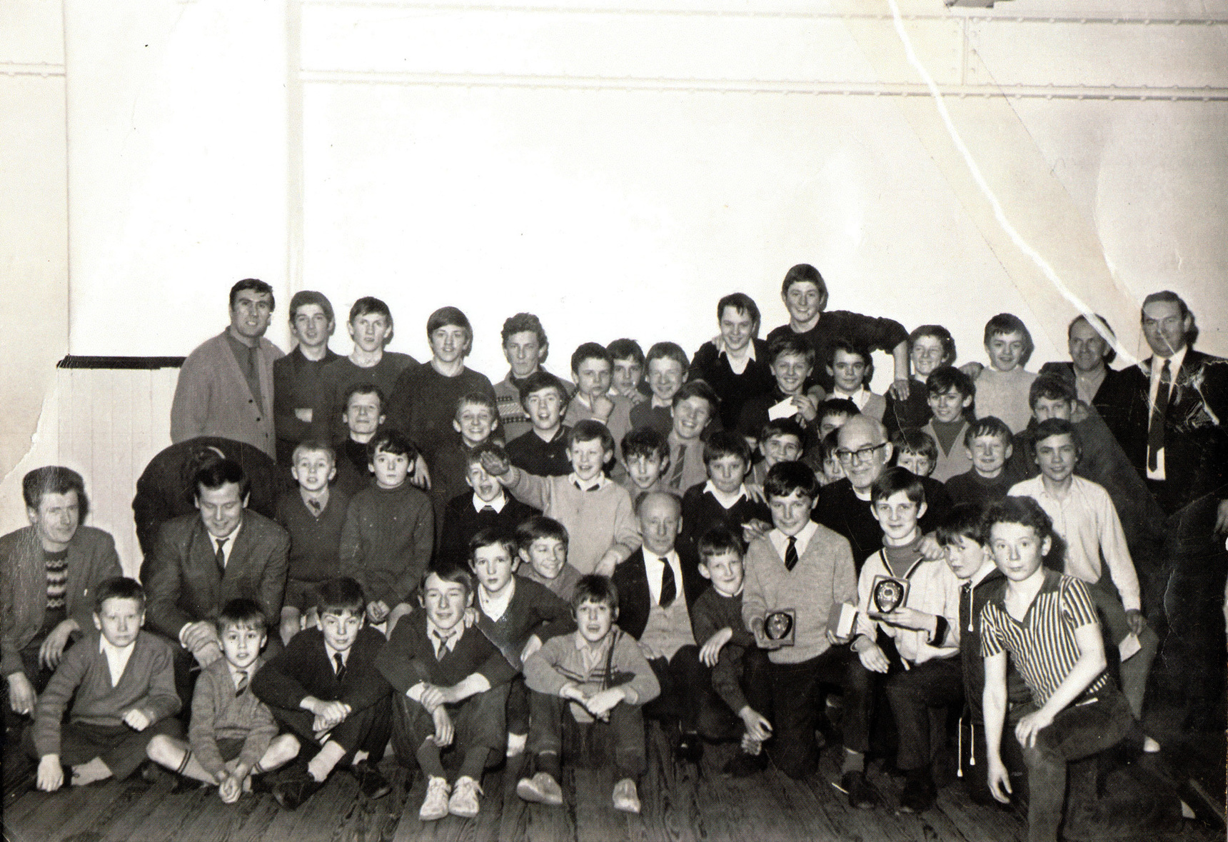 Unidentified Leith School Or Society Group 1960s
