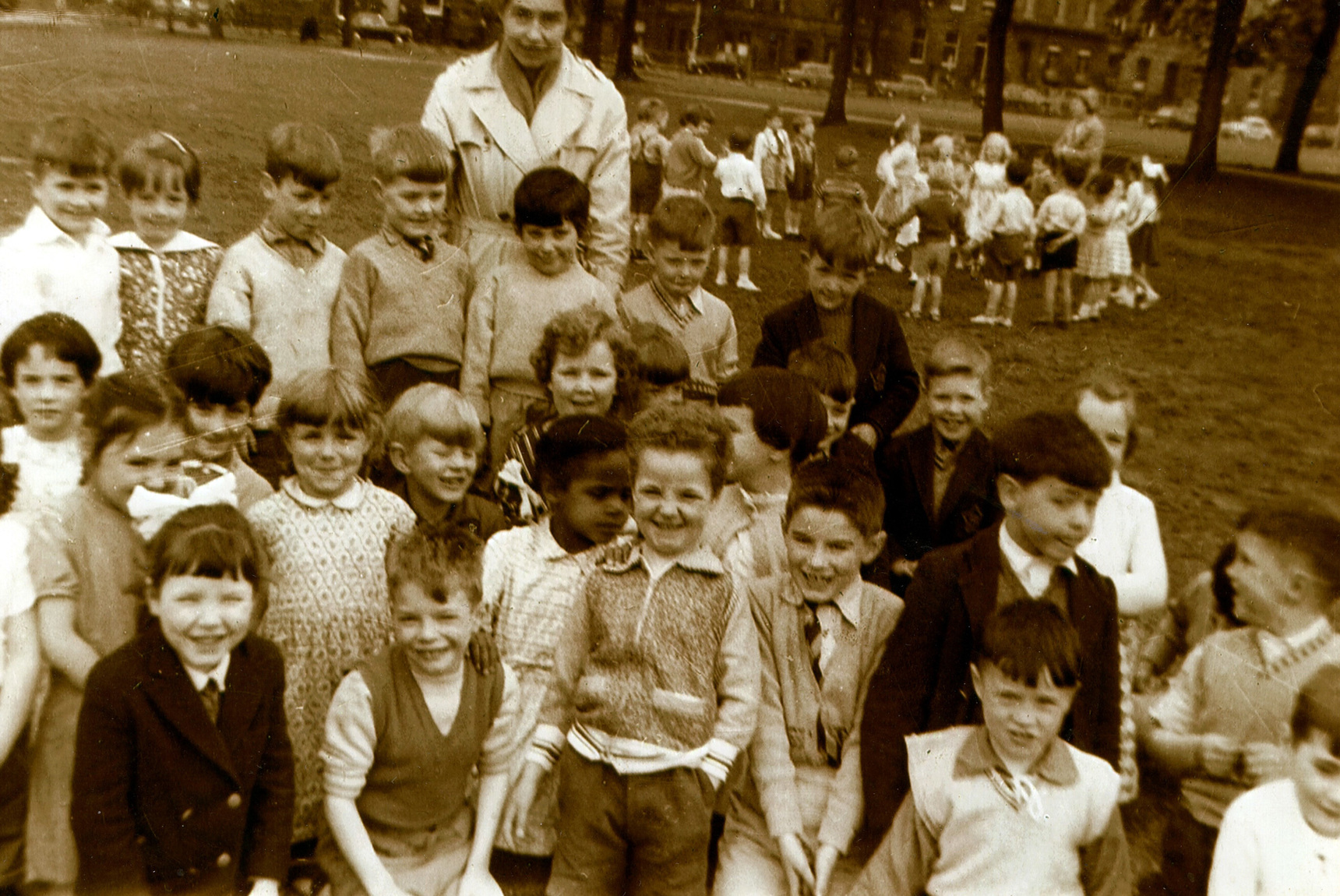 St Mary's School Primary One Class Sports Day On  Leith Links, June 1960