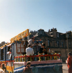 Float On Procession At Leith Pageant c.1968