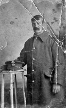 Studio Portrait Royal Scots Fusilier c.1916
