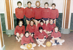 The 1930 ASC Club Under-21 Water Polo Team At Victoria Baths 1970s