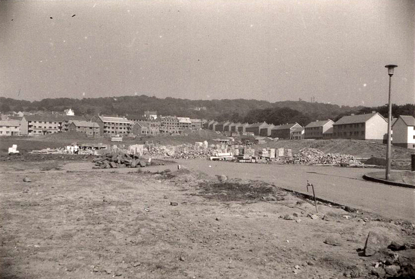New Council Housing Development At Drumbrae 1962