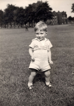 Young Boy At Play In Leith Links c.1960