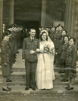 Wartime Wedding, 1st Oct 1944