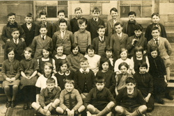 Unidentified School Class Portrait 1930s