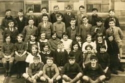 Unidentified School Class Portrait 1930s