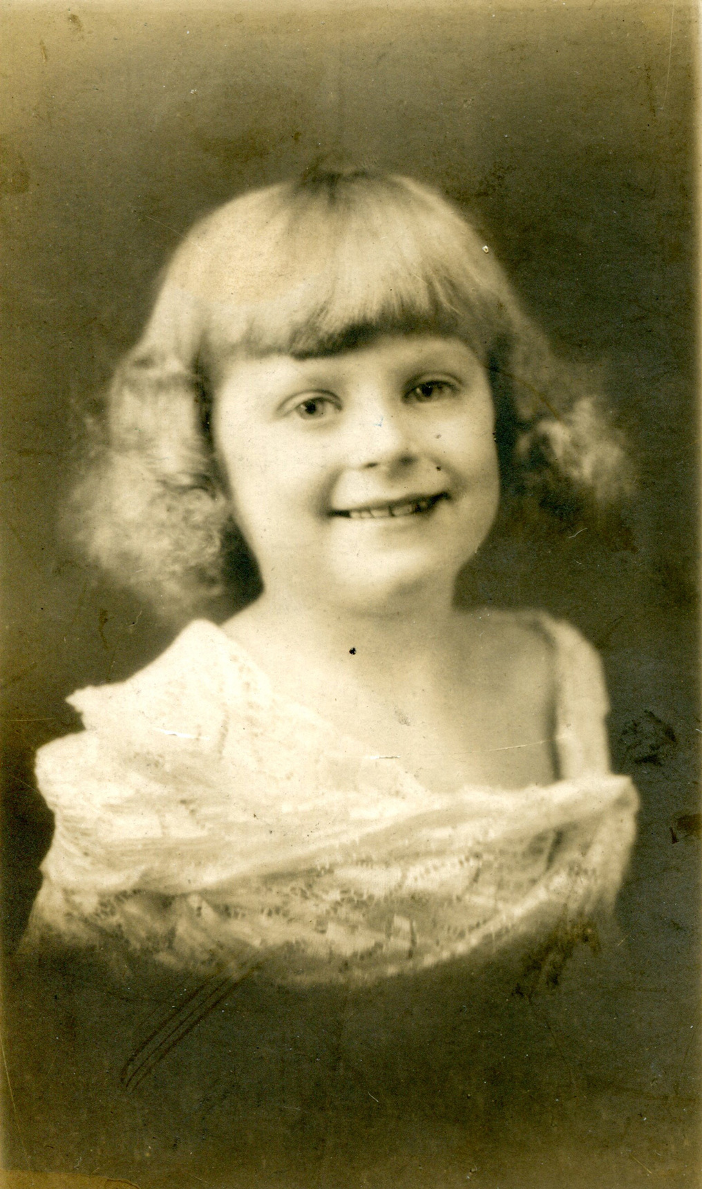 Studio Portrait Young Girl c.1926