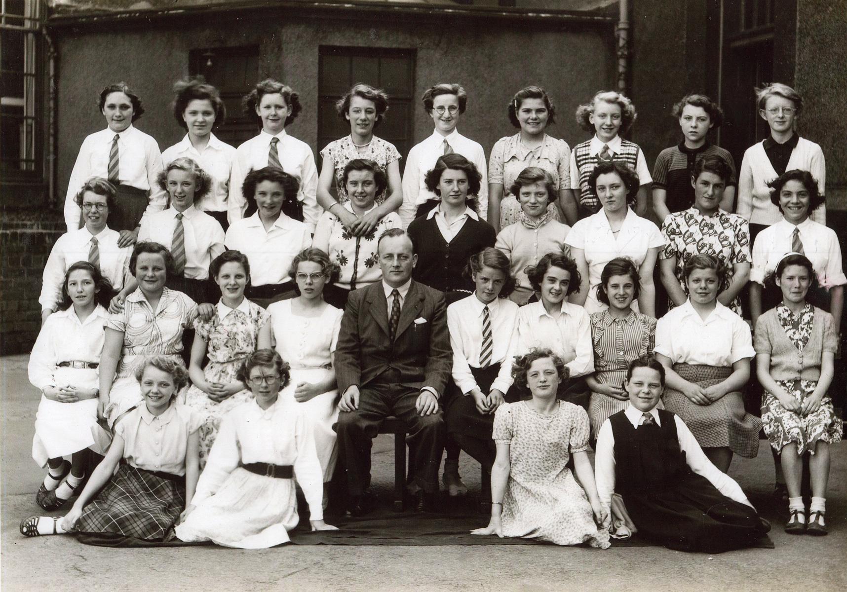 Tynecastle School Class Portrait, June 1953