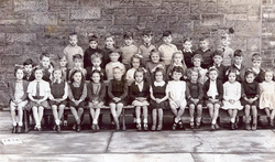 Roseburn School Primary One Class Portrait 1945