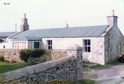 Croft House In The South Of Shetland 1983