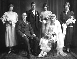 Shetland Wedding Party, 4th February 1926
