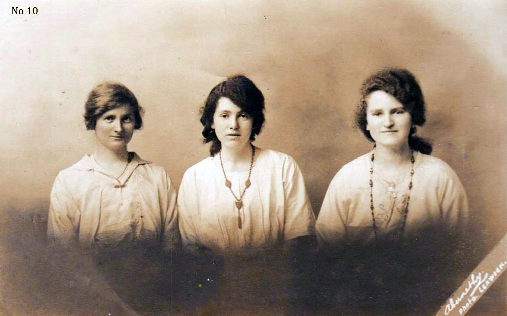 Studio Portrait Three Sisters c.1916