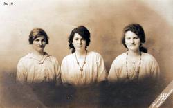Studio Portrait Three Sisters c.1916