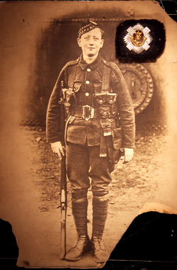 Scots Soldier Of First World War c.1916
