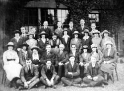 Group Portrait Unknown Occasion c.1920