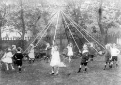 Children Dancing Round Maypole c.1910