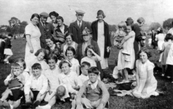 Large Gathering Day Out 1930s