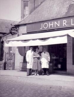 John R Linton Grocery Store At No.1 Glenogle Road 1955