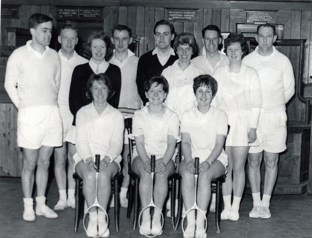 Badminton Club Team Members 1960s