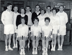 Badminton Club Team Members 1960s