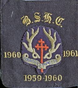 Broughton High School Badge 1960