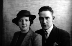 Studio Portrait Husband And Wife 1940s