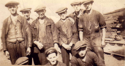 Work Gang At Railway Siding 1920s