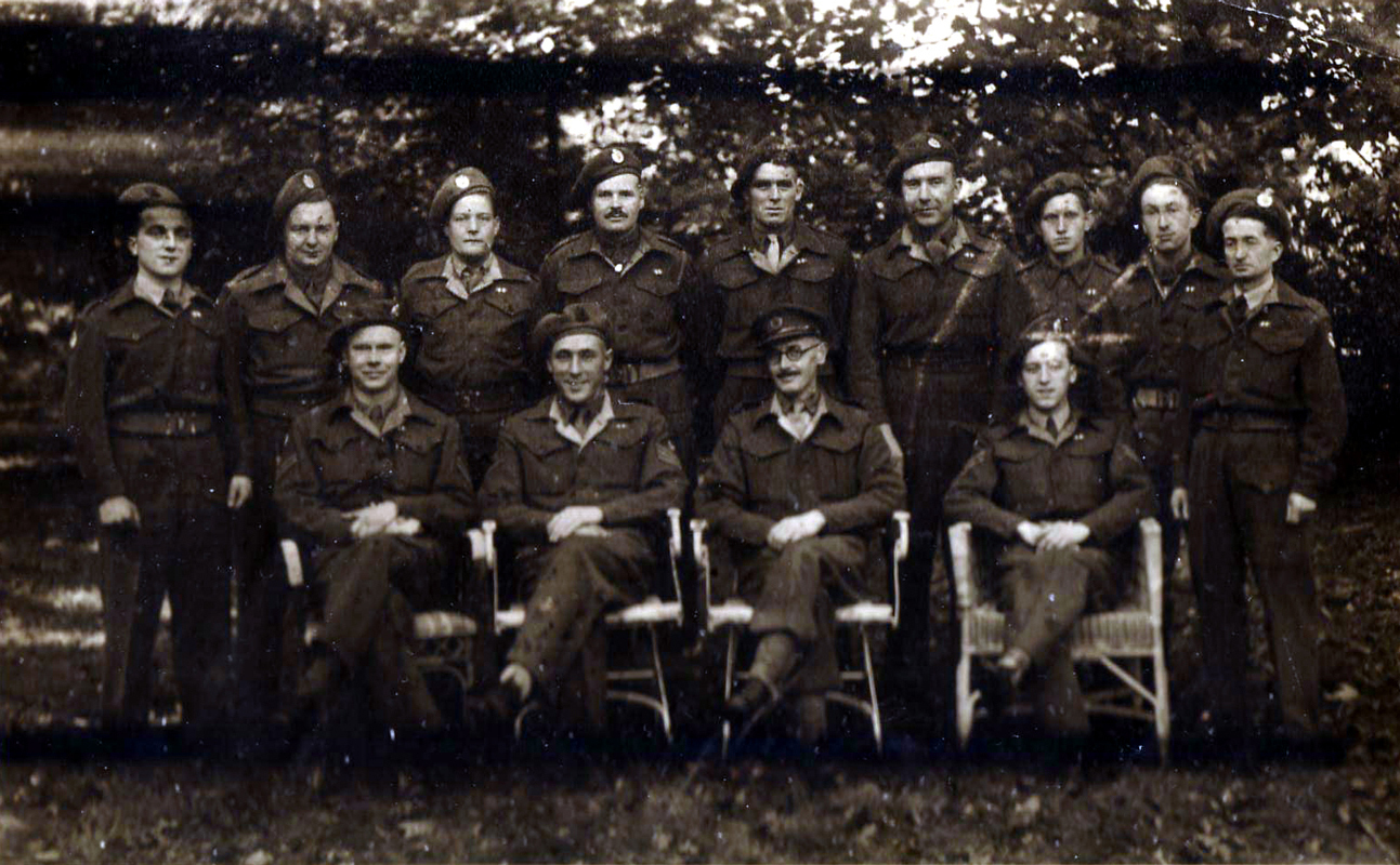 Group Of Soldiers 1940s