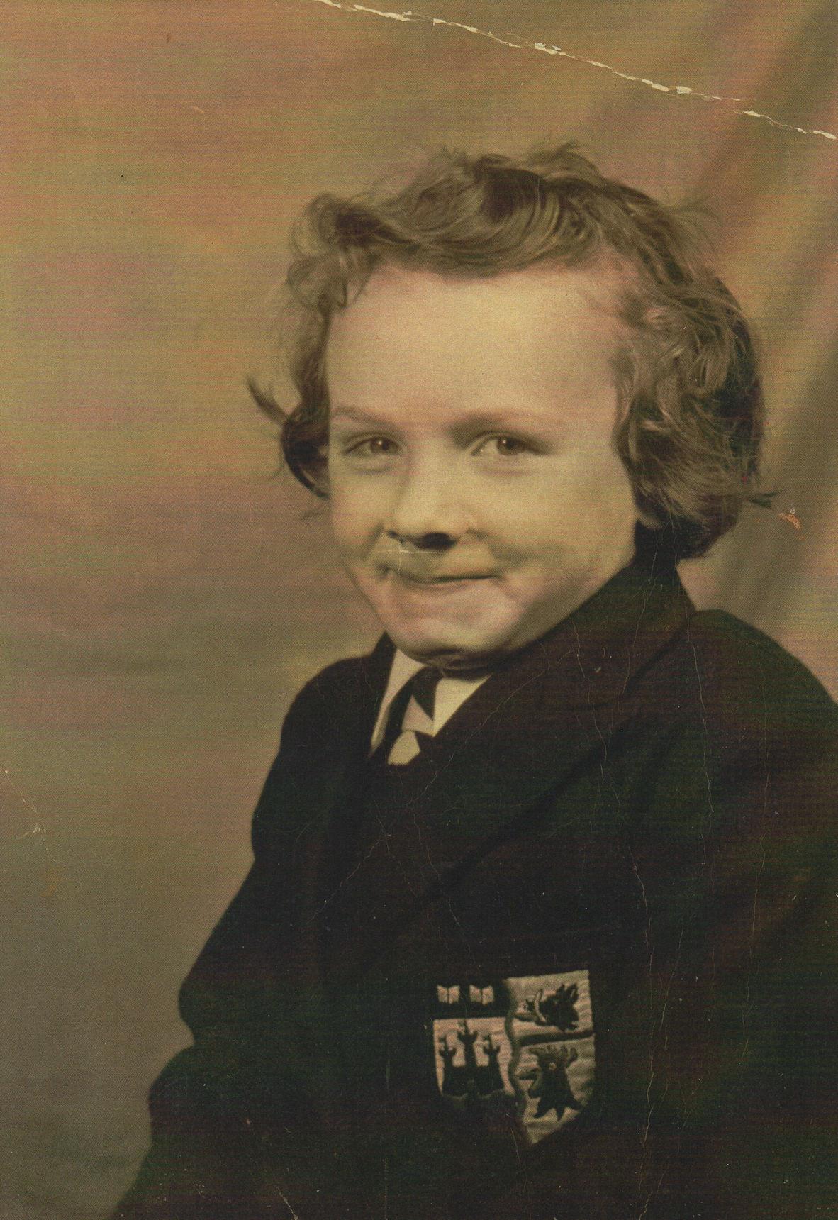 Margaret Lee - Starting Dean Primary School aged 5.