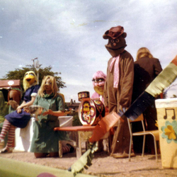 Muppets Float At Portobello Gala Day 1980s