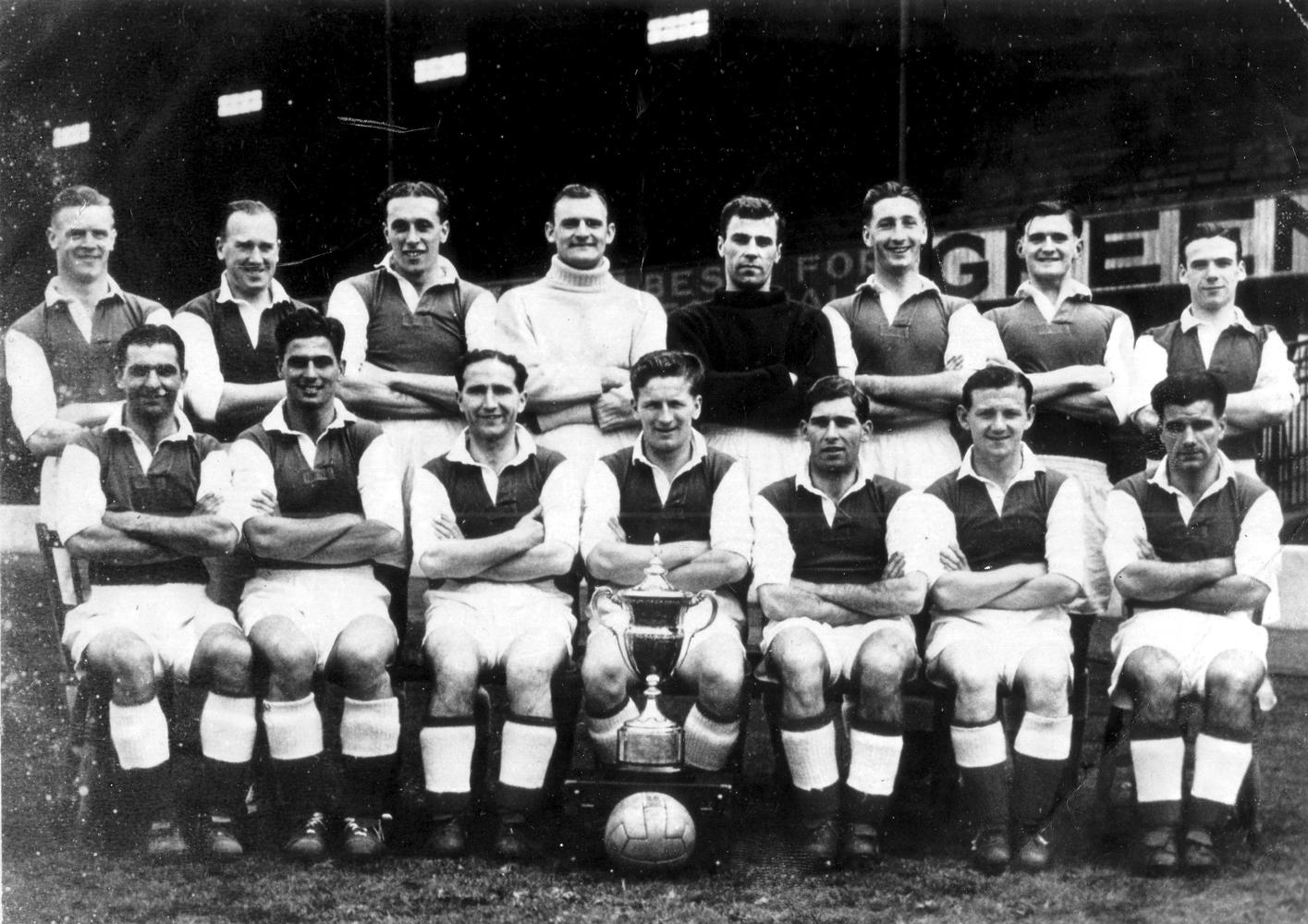 HIbernian Football Club Team 1950s