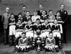 South Bridge School Football Team Winners Of The School Board Cup 1949-50