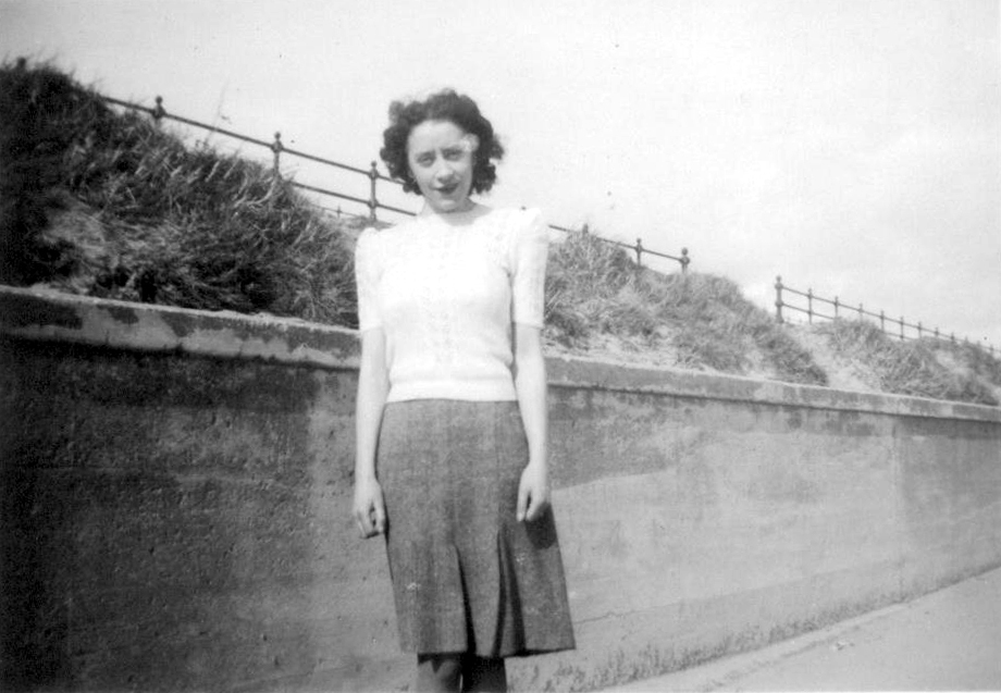 Young Woman At The Seaside, early 1950s