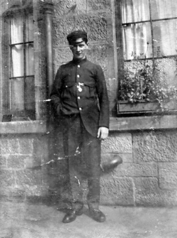 Young Man In Unidentified Uniform 1920s