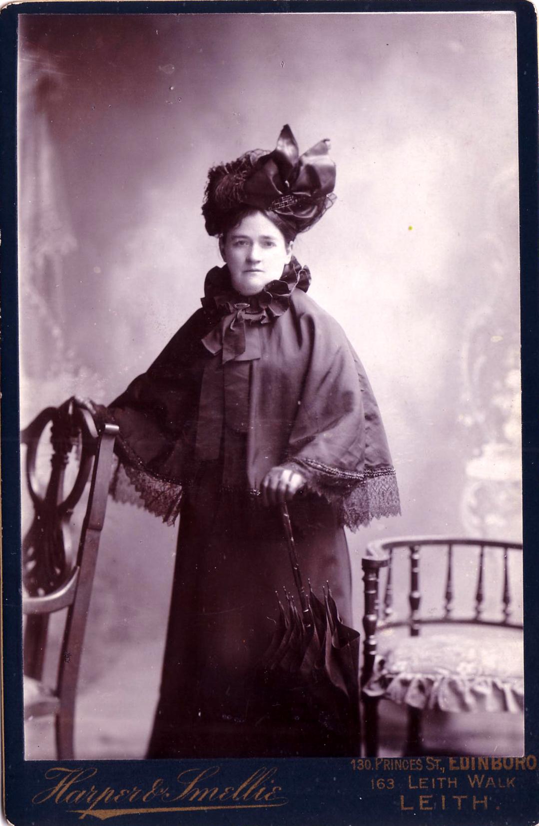 Studio Portrait Edwardian Lady c.1905