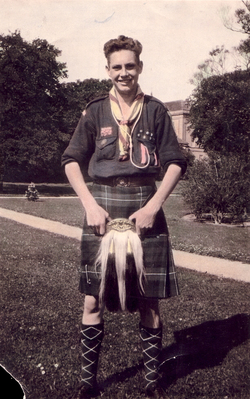 Member Of The Rover Scouts c.1924