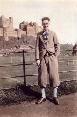 Young Man In Plus Fours c.1930