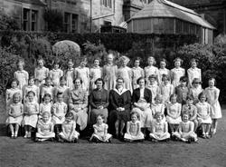 Lansdowne House School Class Portrait c.1954