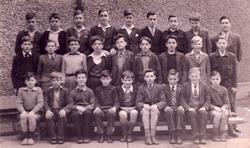 Niddrie Marischal School Class Portrait 1944
