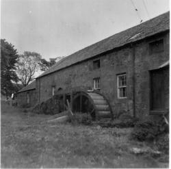 Waterwheel Of Unidentified Mill, late 1940s