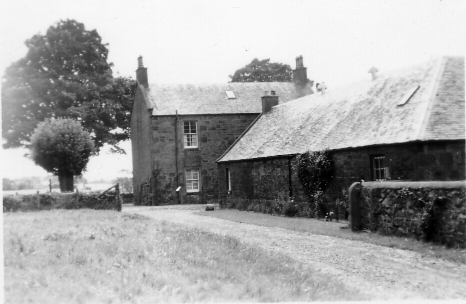 Unidentified Farmhouse, late 1940s