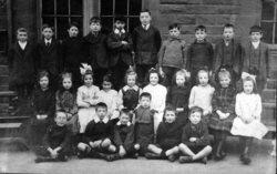 Class Portrait Unknown School 1910s