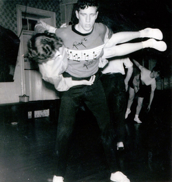 Jiving Couple At The Afton Dance Club c.1958