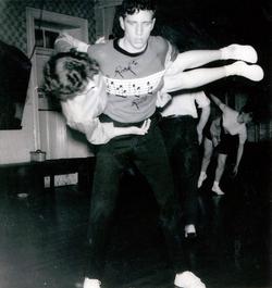 Jiving Couple At The Afton Dance Club 1957