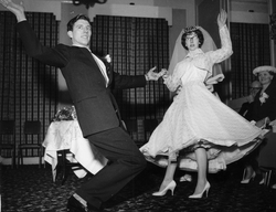 Jive Dancers On Their Wedding Day In The Kintore Rooms 1960