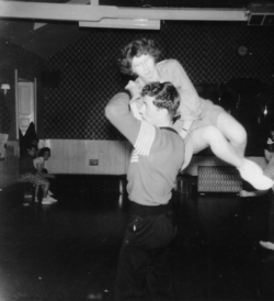 Couple Jiving On The Dancefloor At The Afton Dancing Studio 1957
