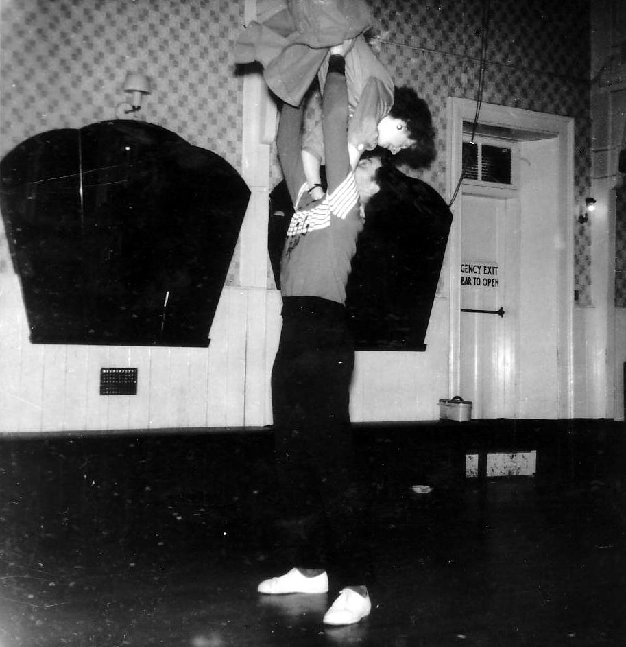 Couple Jiving On The Dancefloor At The Afton Dance Club c.1958