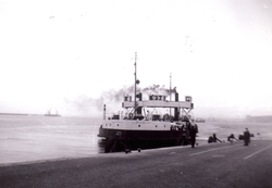 The 'Sir William Wallace' Ferry Leaving South Queensferry c.1960
