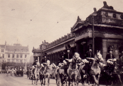 Royal Procession At Foot Of The Mound 1930s