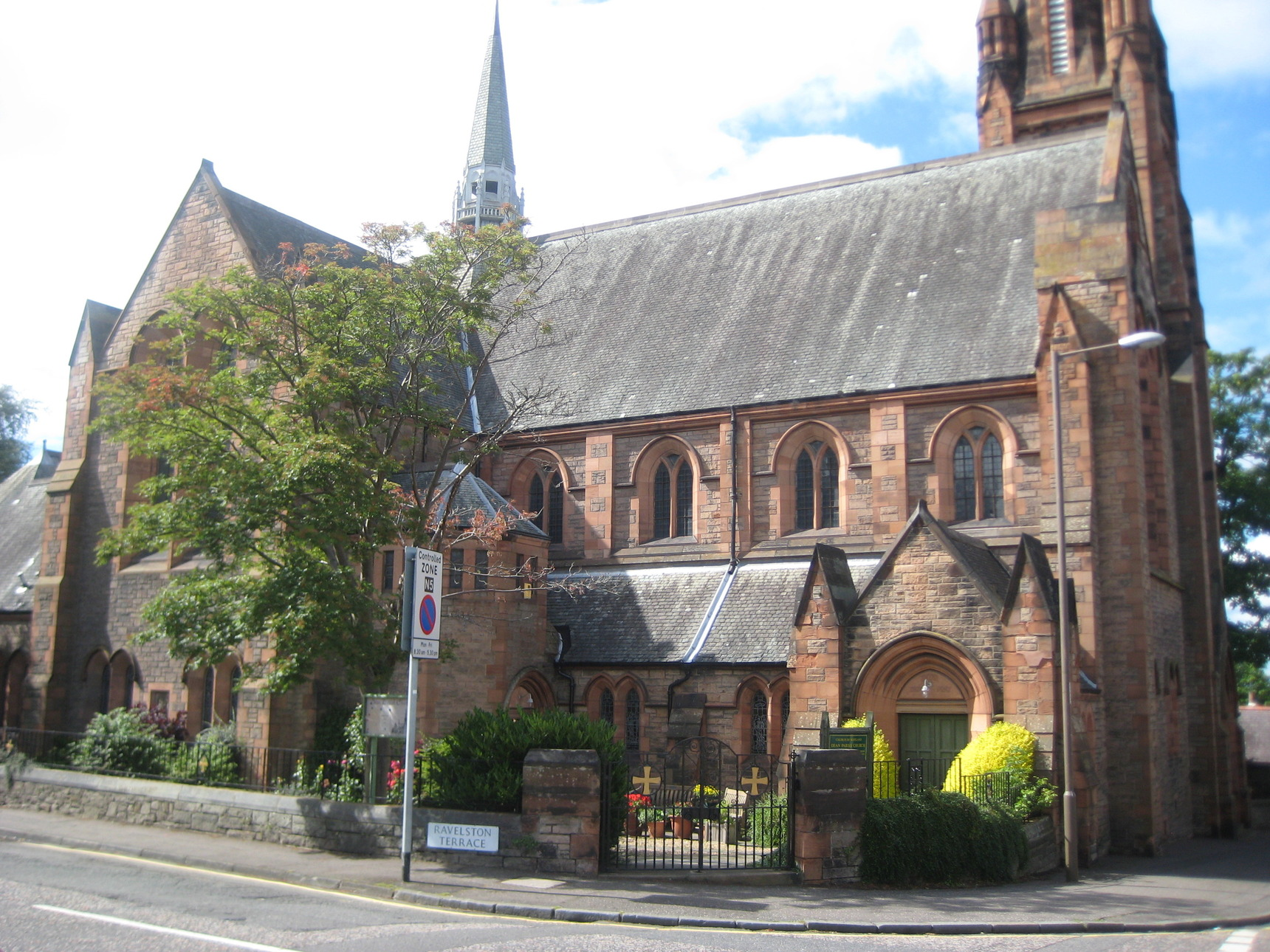 Margaret Lee - The Dean Parish Church played an integral part of family live in the Dean Village.